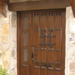 Puerta Entrada Madera 14