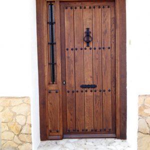 Puerta Entrada Madera 19