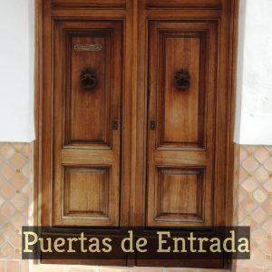 Puertas Entrada Madera